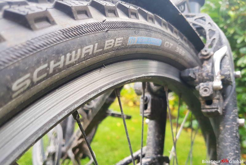Eine Erste Bilanz 1 000 Km Mit Den Schwalbe Marathon Gt 365 Reifen Reifenwechsel Reifen Marathon