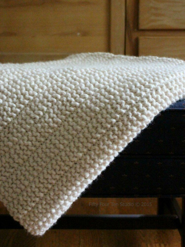 The Boulevard Blanket Knitting pattern by Fifty Four Ten ...