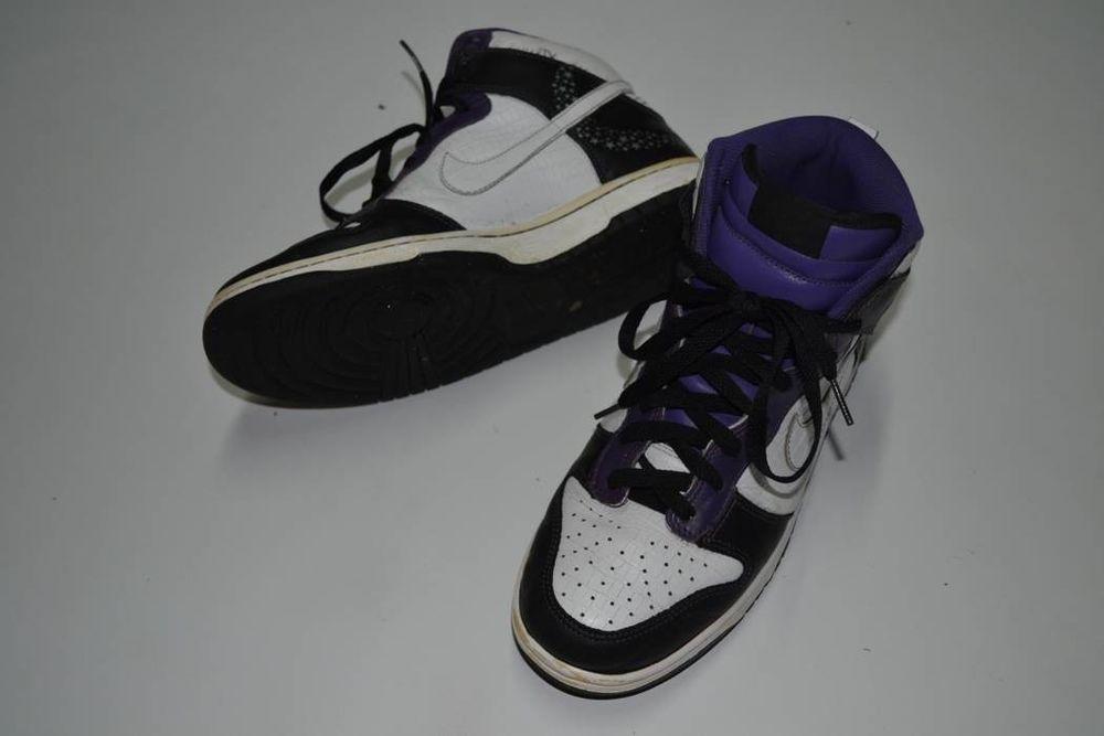 info for 6caf3 f221f 2006 Nike SB Dunk High Premium Crocodile Stars Black White Quasar Purple  9.5  fashion