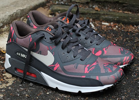681cf4979d28 Nike Air Max 90 Tape - Red Camo - Dark Grey - SneakerNews.com ...