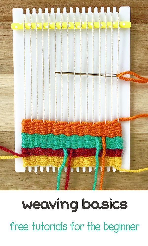 #crafts #begin#weaving#frame#learn#weave#first#series#tutorials How to Begin Weaving on  a Frame Loom Welcome to weaving! This is the first in a series of tutorials in which I'll teach you the basics of weaving on a simple frame loom. The techniques can be done on any size loom. I'll be using my Lucy Loom, click here to get one for yourself! In this post, I'll show you how to get started on your weaving project. Yarn