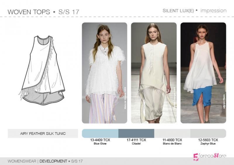 SS17 - Womenswear - Development - Woven Tops Bourgeoise ...