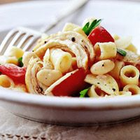 White Beans, Pasta, and Chicken