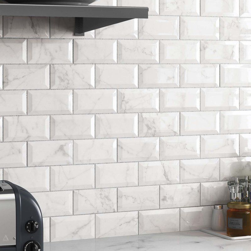 Karra Carrara 3 Quot X 6 Quot Subway Tile In White Marble