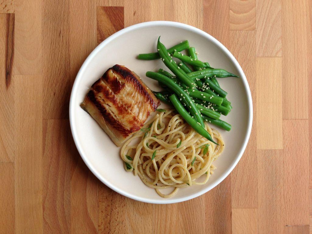 miso-marinated black cod