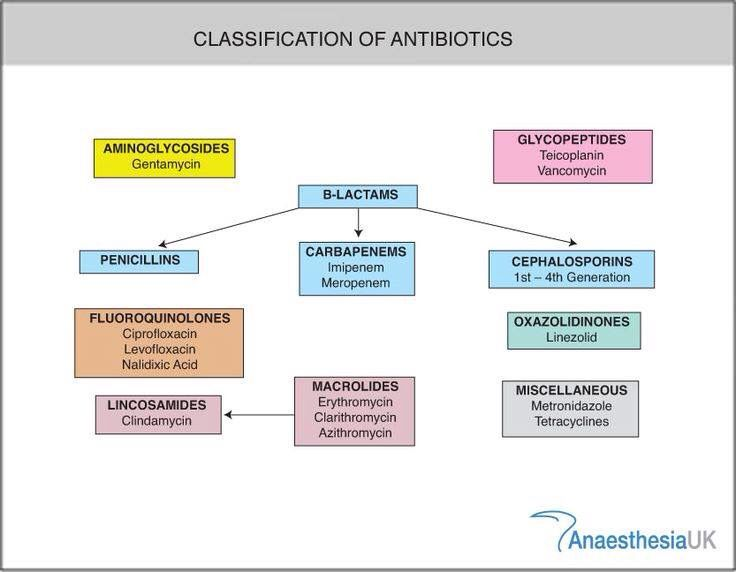 Antibiotic classes Drug Information Center Pinterest - drug classification chart