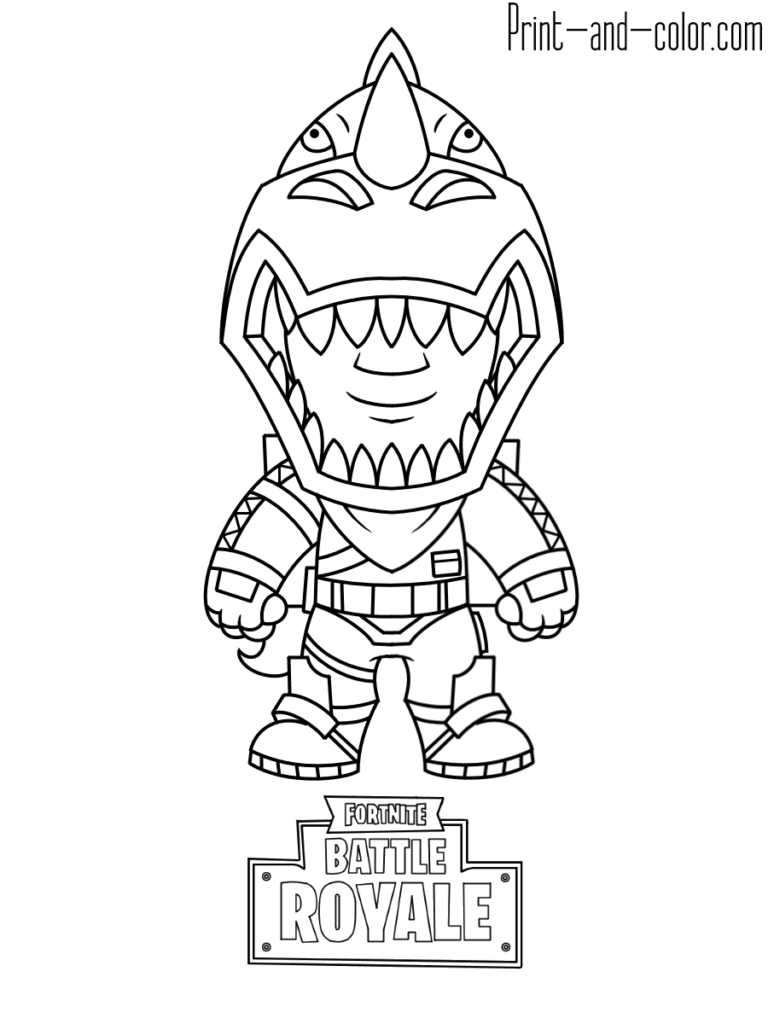 Fortnite Coloring Pages Print And Color Com Star Coloring Pages Coloring Pages Coloring Pages For Kids