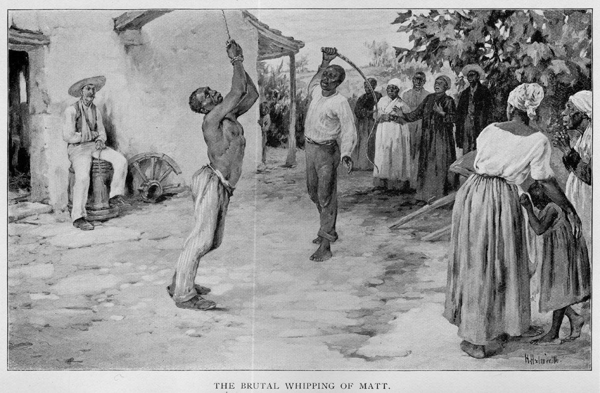 Image result for black slave whipping slaves