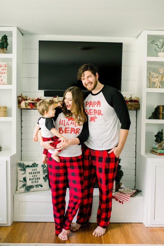 Family Matching Shirts Family Christmas Shirts Mama Bear