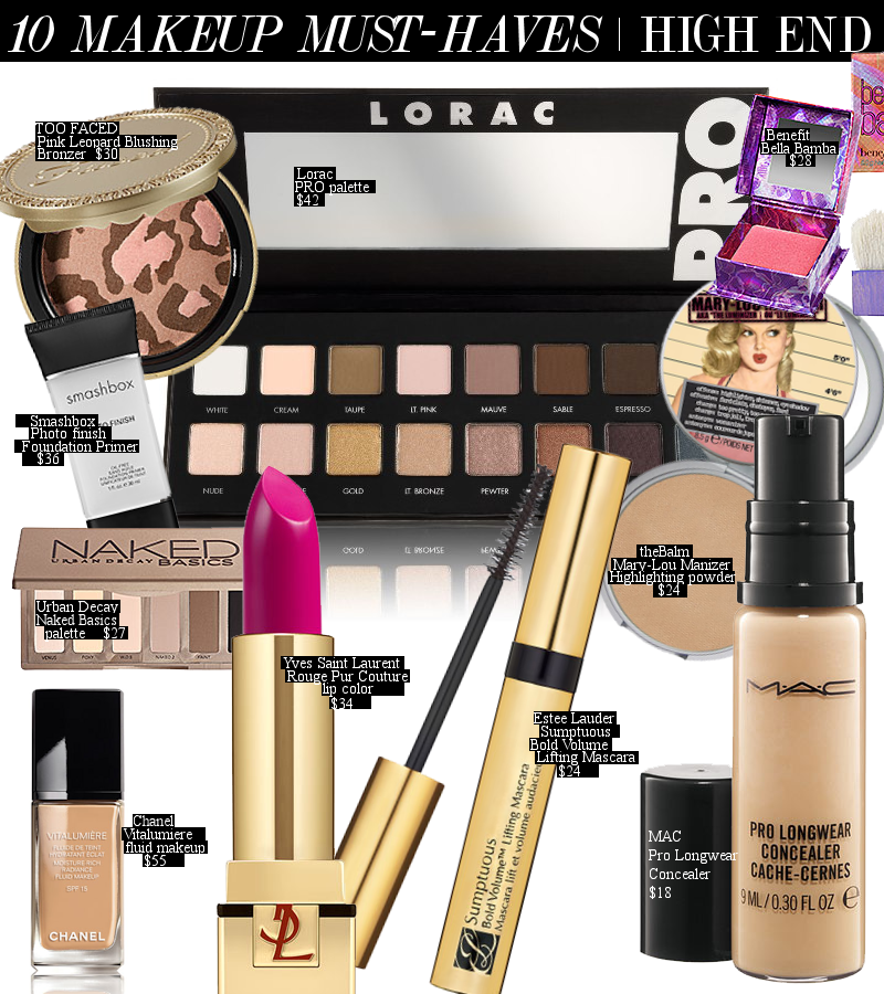 10 HighEnd Makeup MustHaves >>> http//www