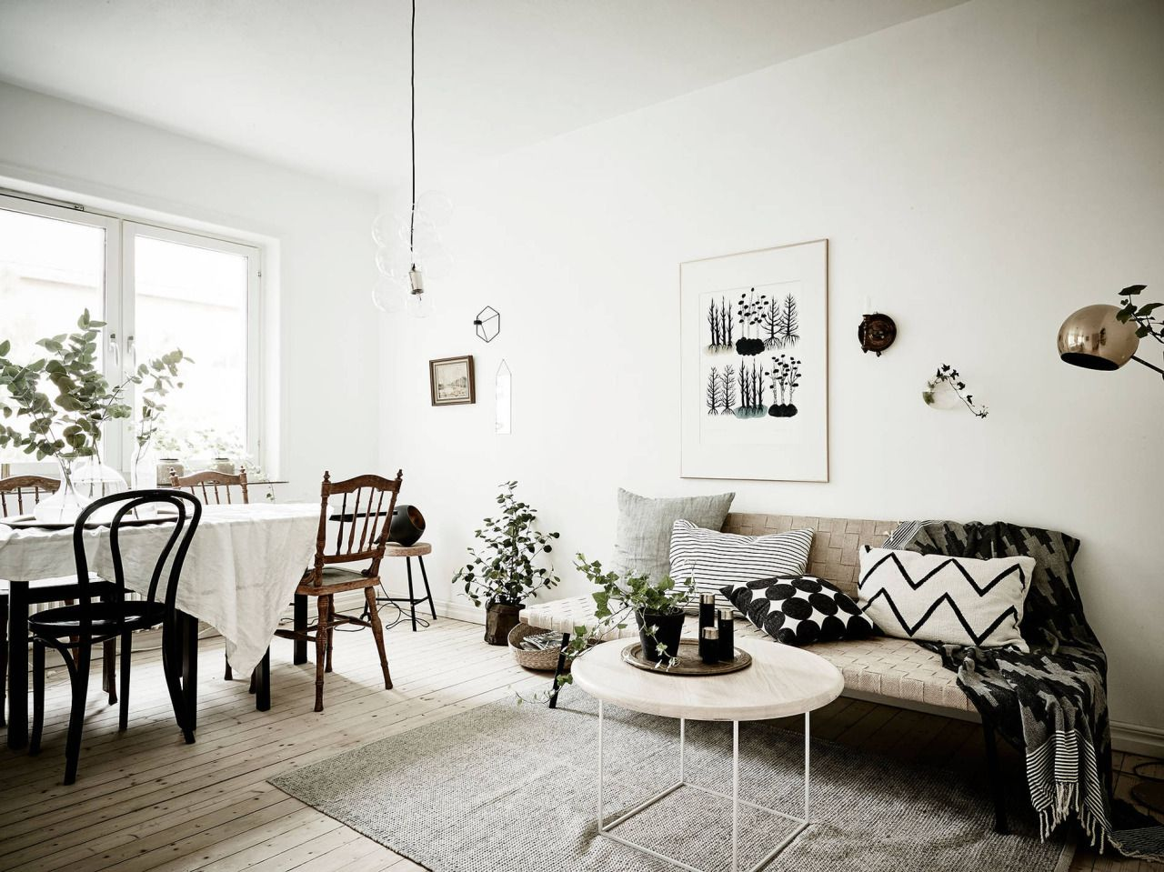 Scandinavian living room in earth tones | LIVING ROOM - BLOG ...