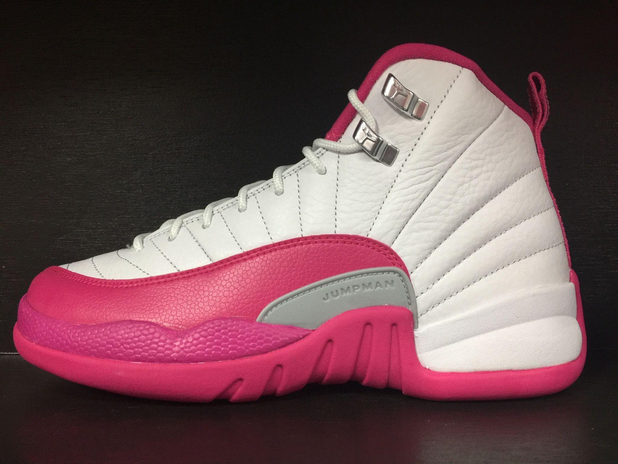 free shipping a1913 3de10 Air Jordan 12 GS 'Dynamic Pink' | JORDANS | Jordans, Air ...