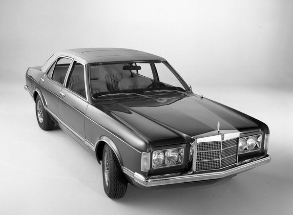 OG | 1973 Lincoln Mark I Concept | Designed by Ghia, this is a facelift of german Ford Granada
