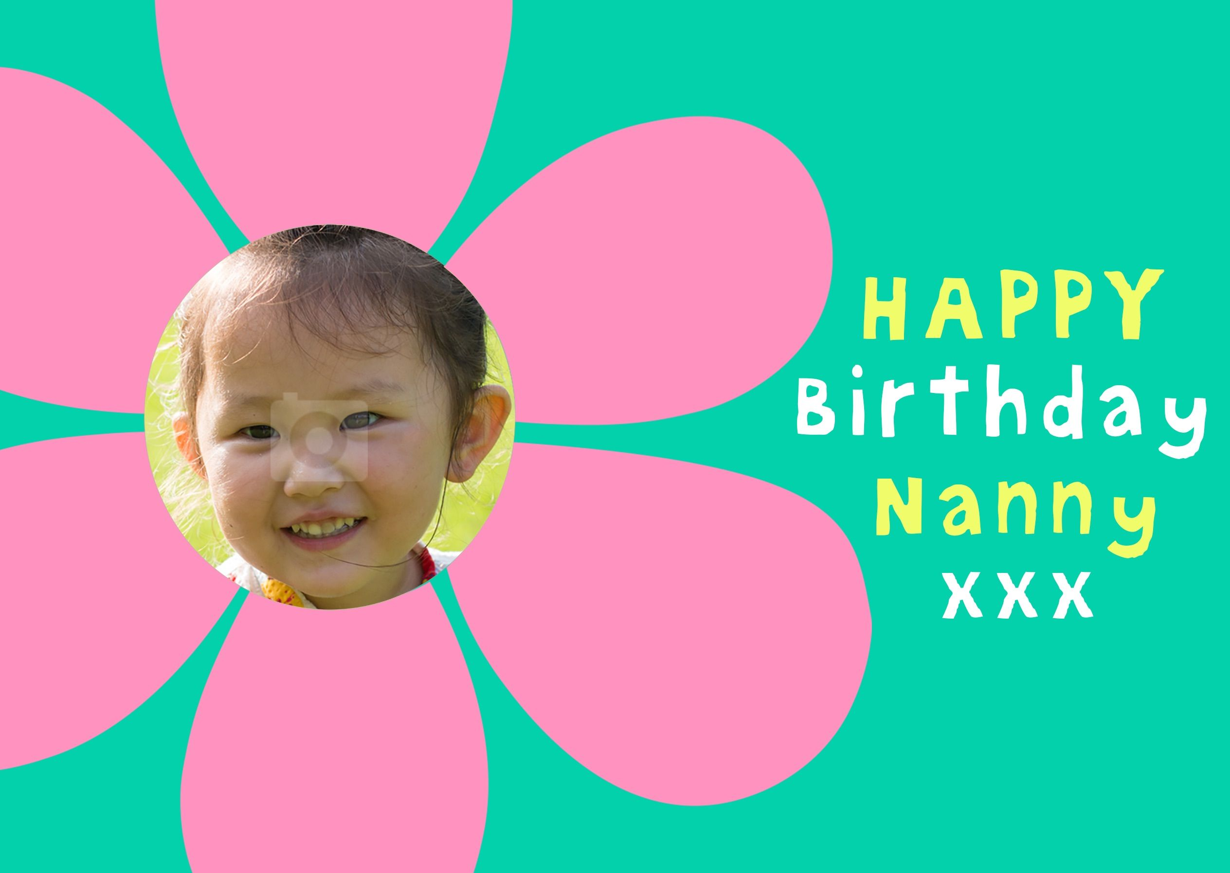 FLOWER POWER Make it a birthday to remember with this fab Face in – Face in Hole Birthday Cards