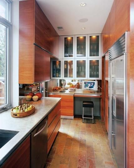 Wilmette Renovation Kitchen: A D.C. Row House Kitchen Renovation