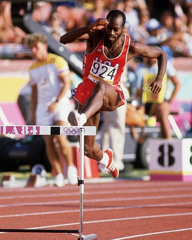 Edwin Moses (1984) | SPORT | Olympians, Olympic athletes ...