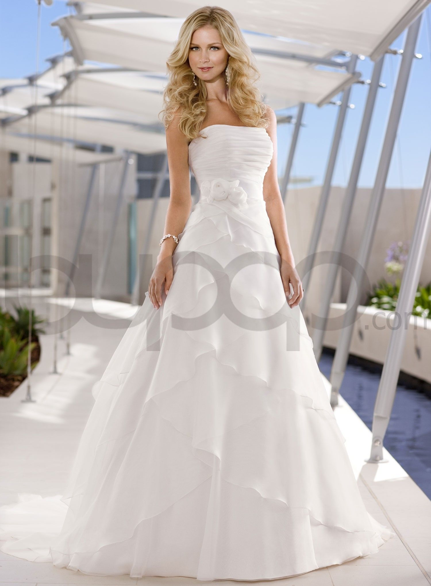 Beautiful Strapless Wedding Dresses - Ocodea.com