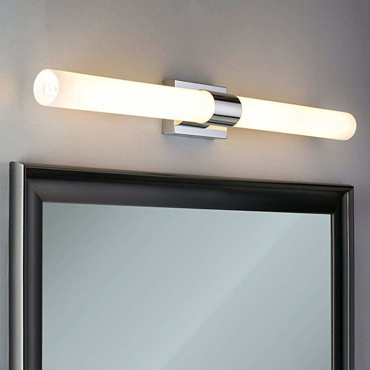 Perpetua 42 Inch Led Vanity Fixture Polished Chrome 53 5w Dimmable