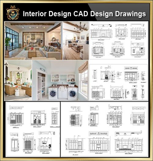 Bedroom Elevations Interior Design Elevation Blocks What: Interior Design CAD Design,Details,Elevation Collection】R