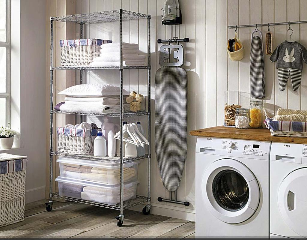 Revista MiCasa on   Cuartos de lavado, Planchas y Lavar