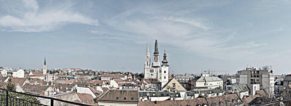 Gornji Grad Katedrala Paris Skyline Zagreb Gornji Grad