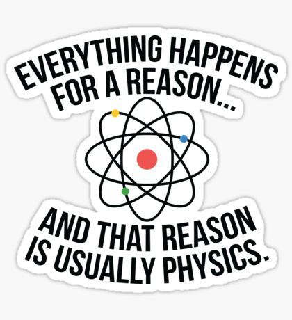 Science Stickers In 2020 Science Stickers Physics Science Jokes