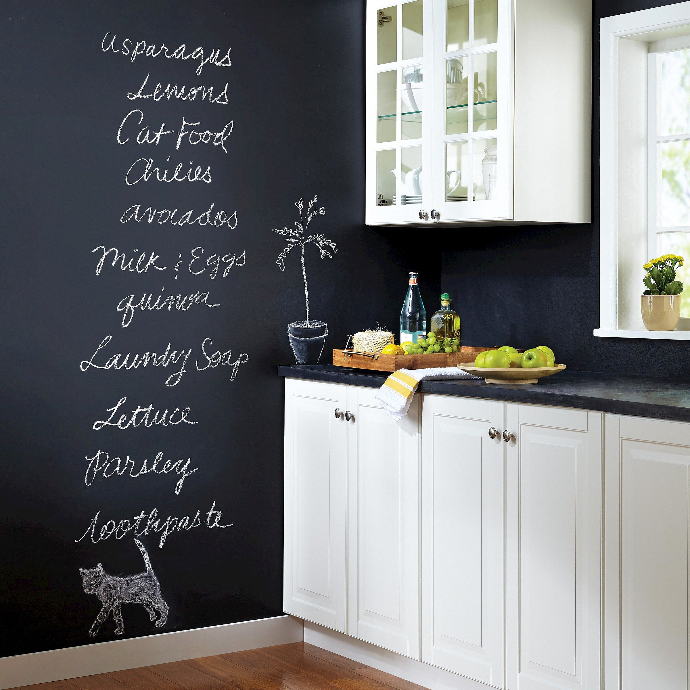 Chalkboard Paint Kitchen Kitchen Diy With Devine Color Chalkboard Paint At Target Diy