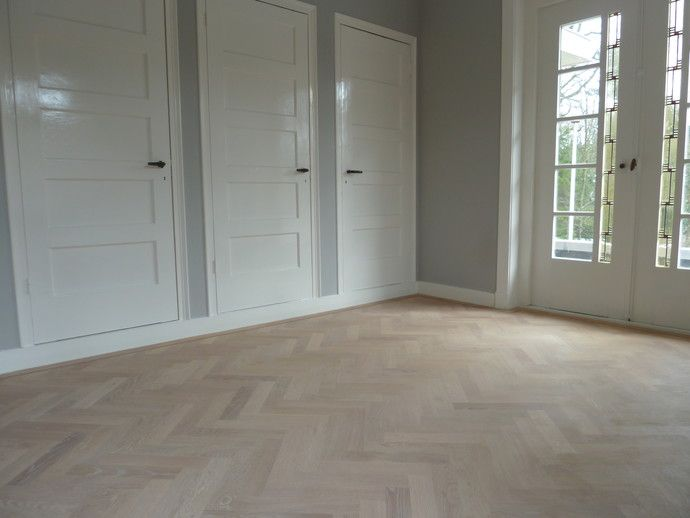 Visgraat vloer extra white geolied home decorati