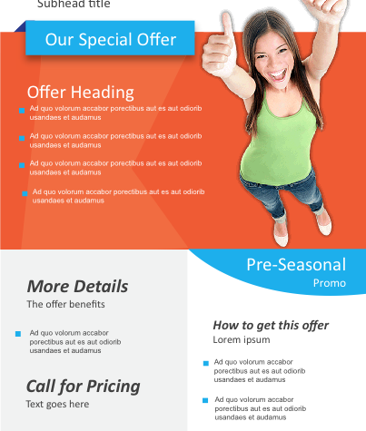 Easy To Edit A5 Digital Flyer Template From Get It Bydeesign Http