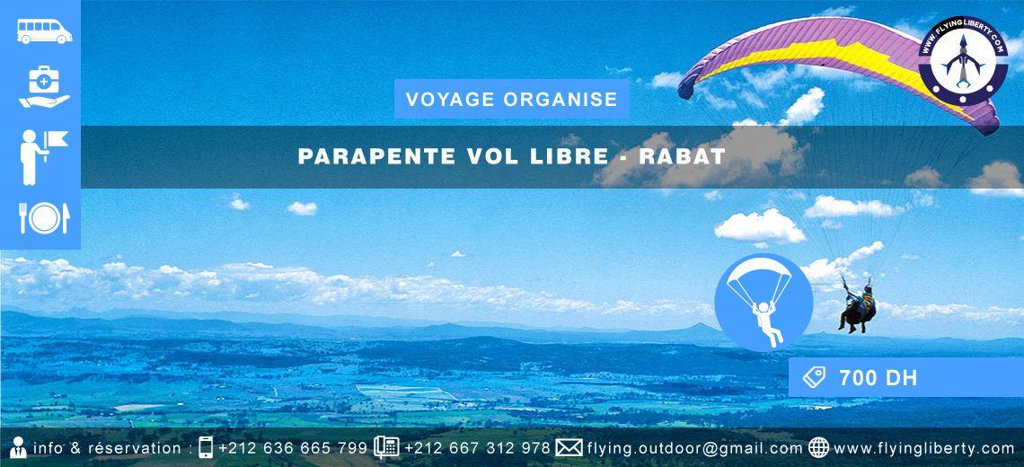 VOYAGE ORGANISE Parapente Vol libre > RABAT Voyage