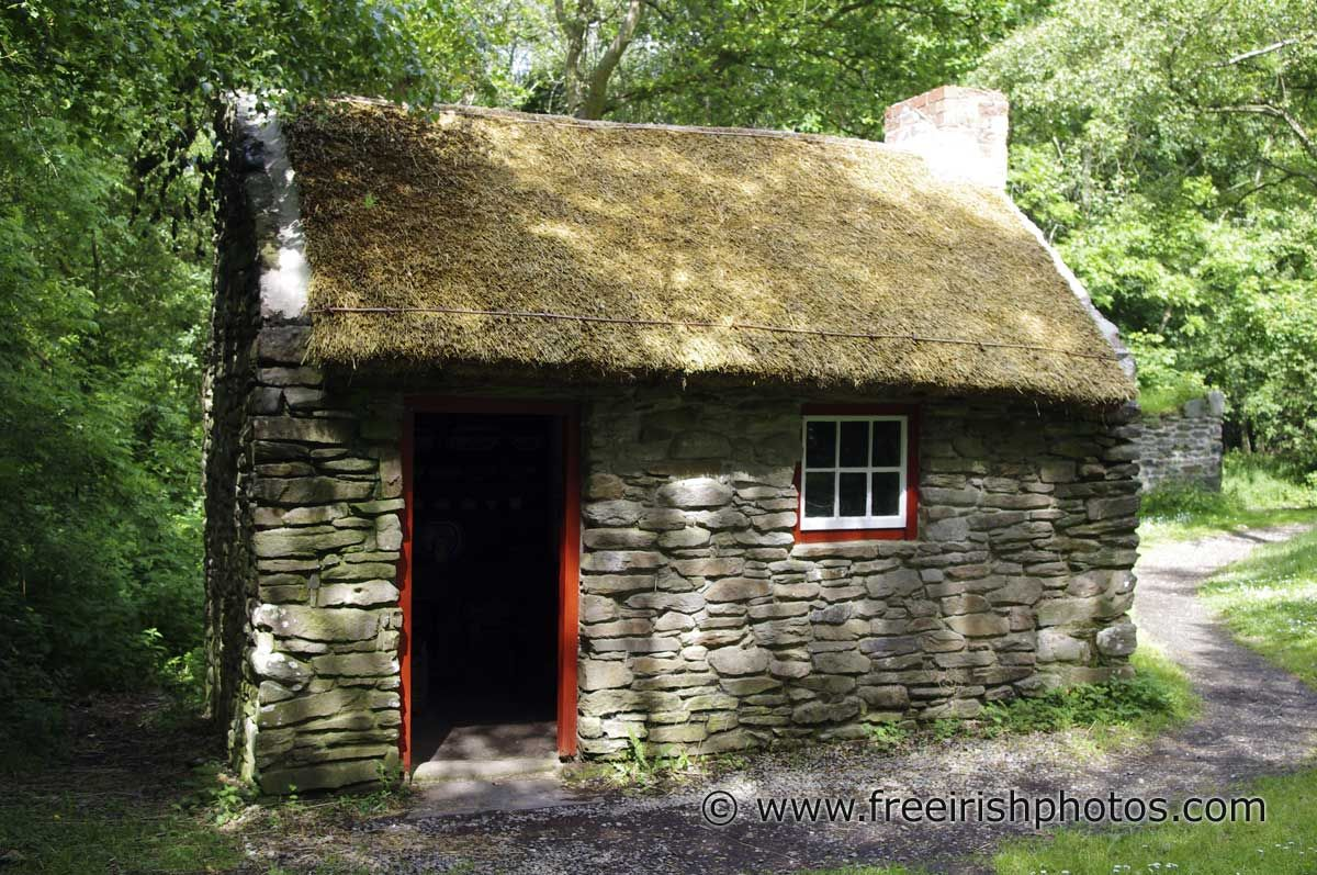 an old cottiers house in ireland irish cottages pinterest