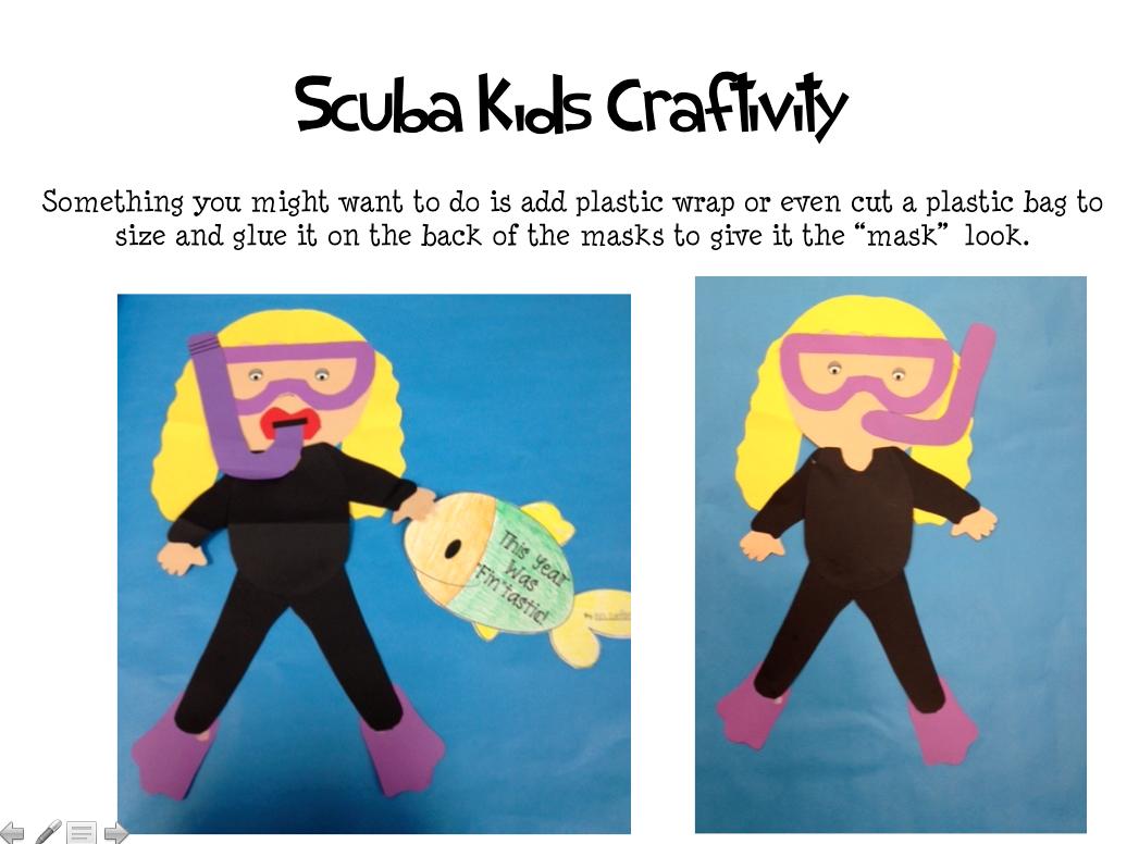 scuba crafts