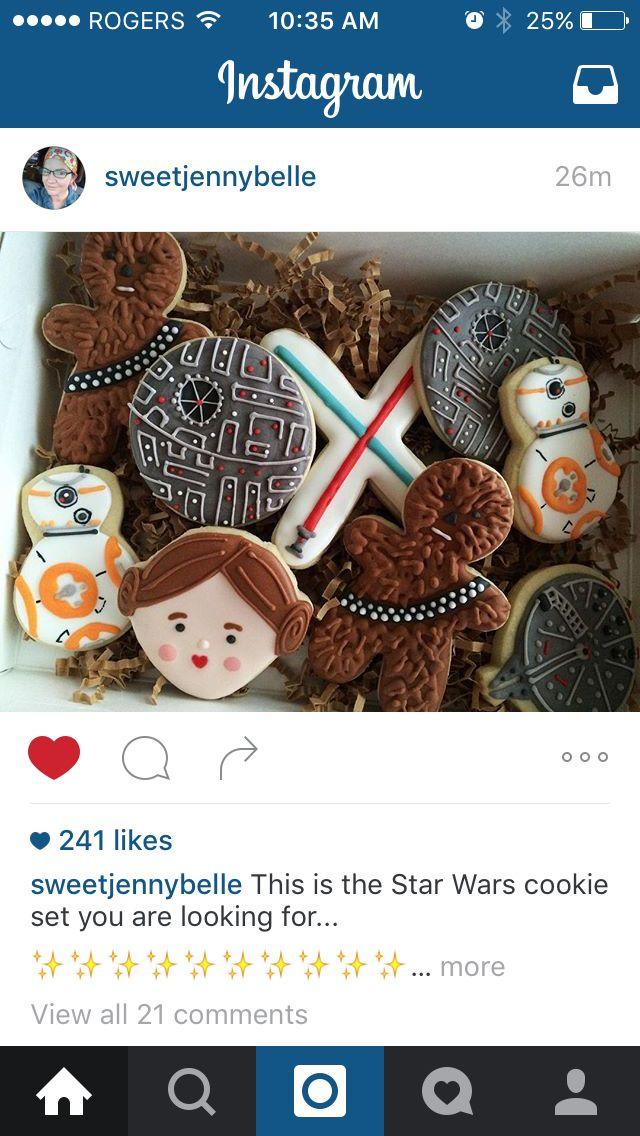 Star Wars cookies!!