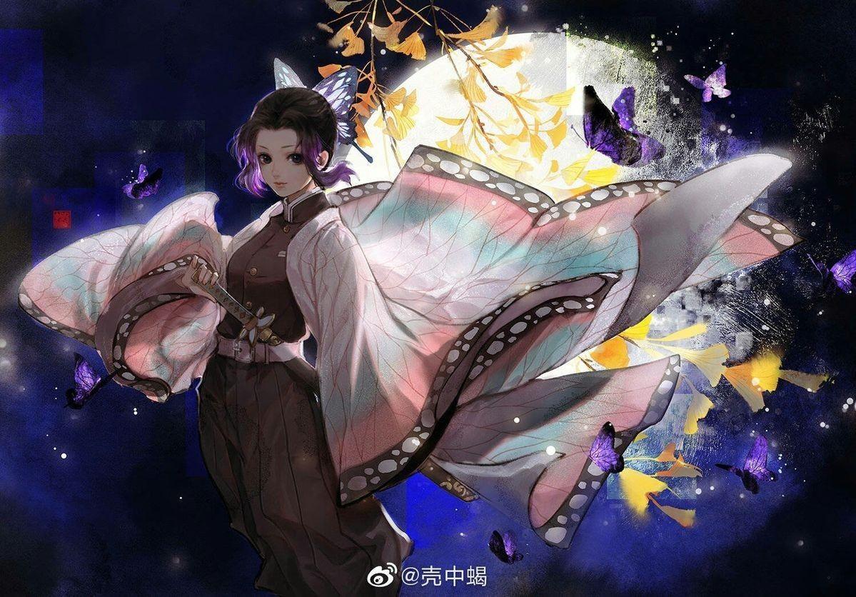 Shinobu Anime wallpaper iphone, Anime art girl, Slayer anime
