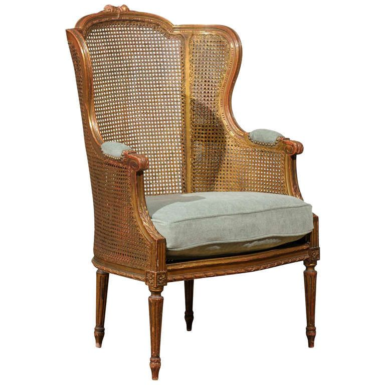 Franya Waide Louis XVI Caned Chair with