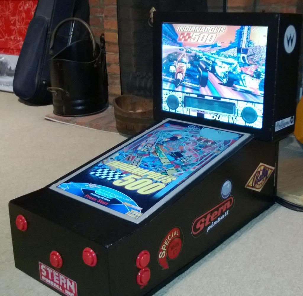 Visual Pinball Cabinet | Games & Arcade | Pinterest | Pinball ...