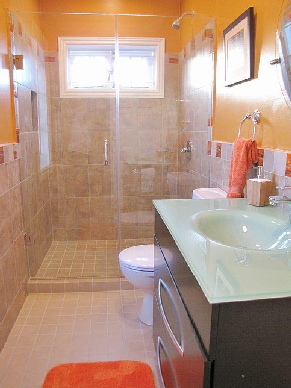 Bathroom 2 Frameless Glass Enclosure And Vanity Trinidad