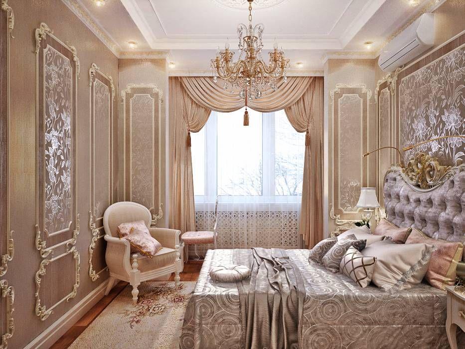 klassische schlafzimmer bilder von Студия дизайна interior design, Badezimmer