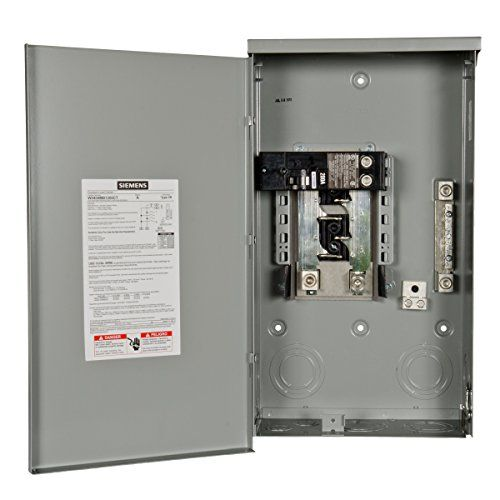 Siemens W0404mb1200ct 200 Amp Outdoor Trailer Panel Electrical Shop Locker Storage Electrical Supplies