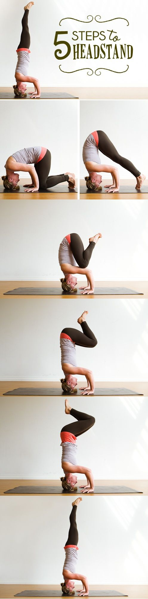 Headstand Steps