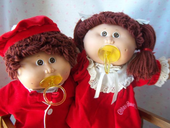 Cabbage Patch Kids Christmas Twins 1980s Rare Htf Etsy Cabbage Patch Kids Cabbage Patch Cabbage Patch Babies