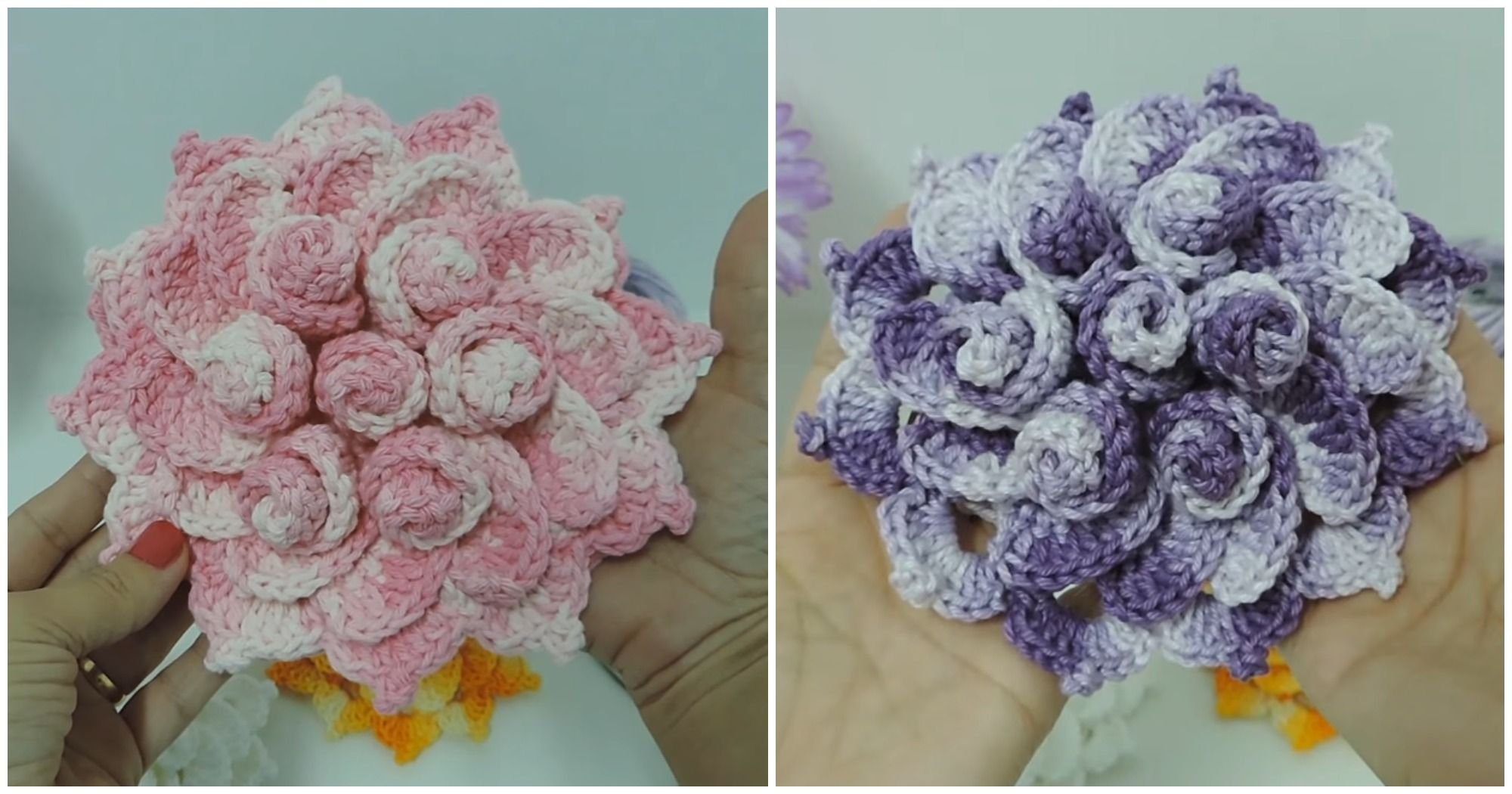 Crochet May Flower With Images Crochet Crochet Flowers