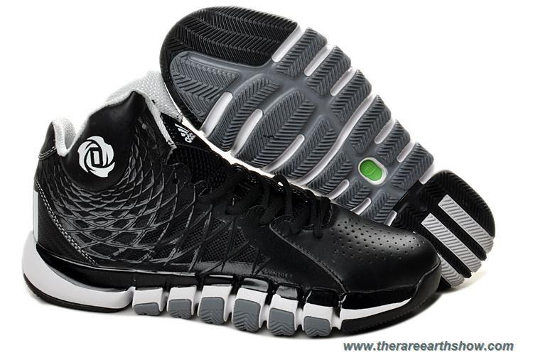243f4a2cb17 New Adidas Derrick Rose 773 II Q33232 Black White