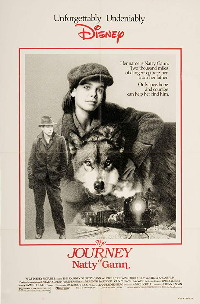 The Journey of Natty Gann (1985) Walt disney movies