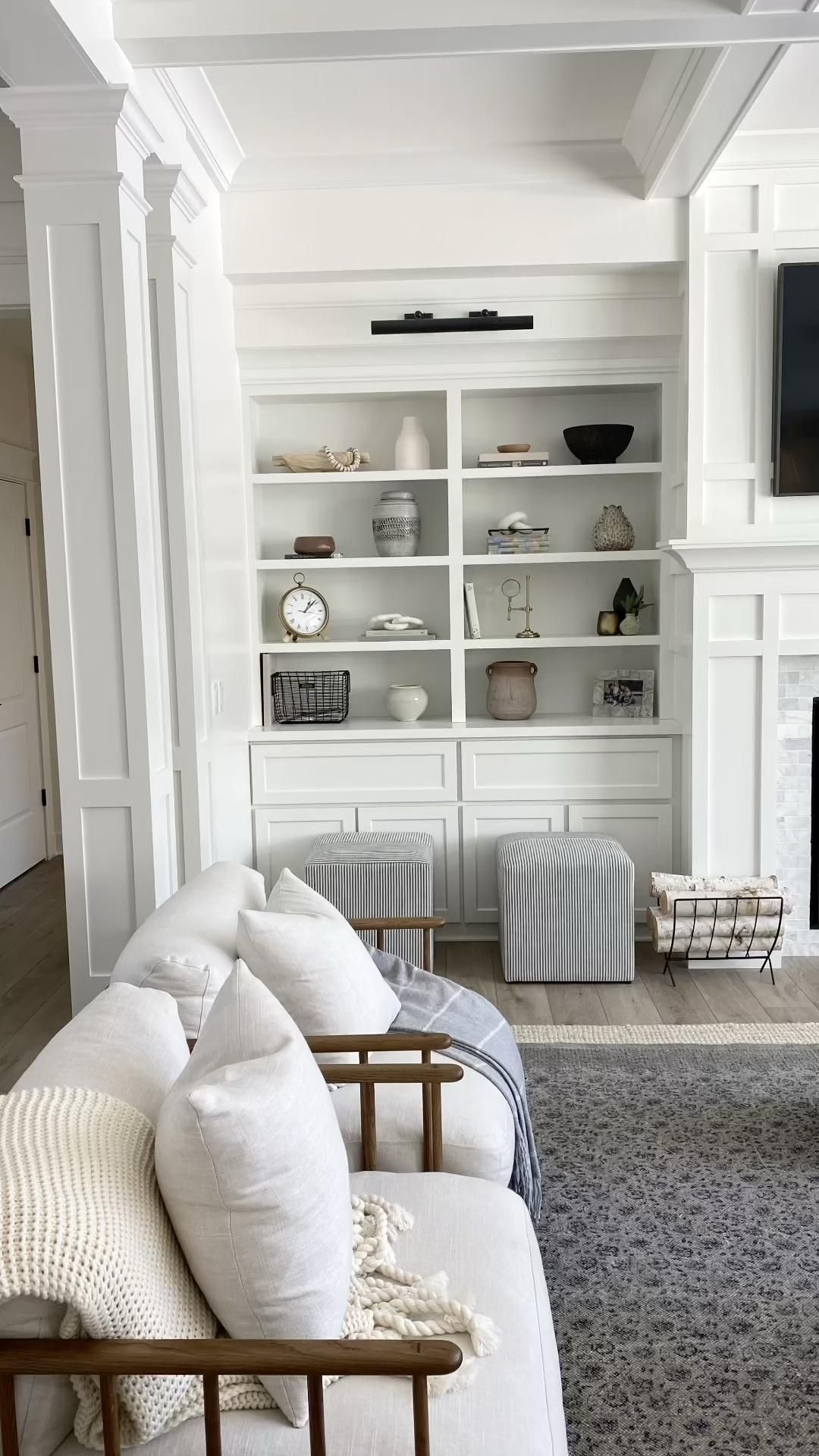Keys to shelf styling and refreshing your spaces