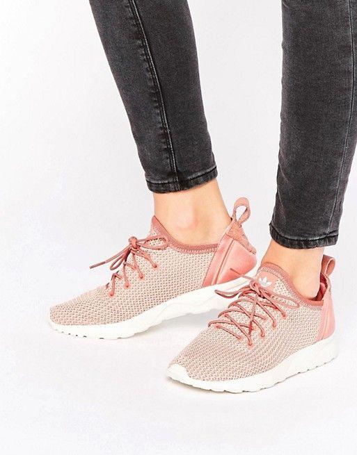 7fdf5bb38 Adidas | Zapatillas de deporte en rosa sombra Zx Flux Adv de adidas  Originals