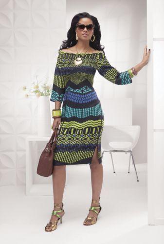 643f68d7d Cayenne Smocked African Design Dress from ASHRO #fallintofashion14 ...