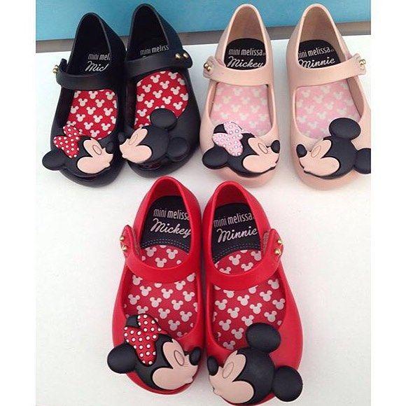 3c28262ebb085a Mickey Minnie mini Melissa | #MiniMelissa | Sapatos infantis ...