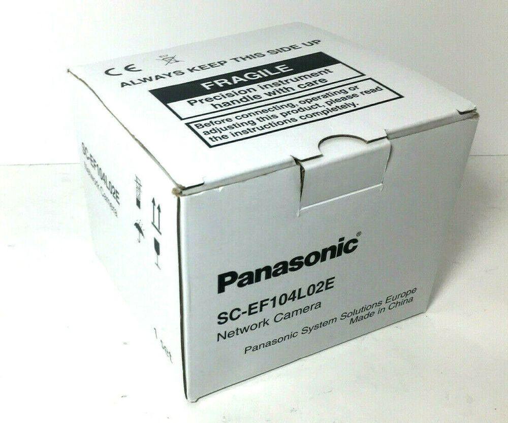 Panasonic Sc Ef104l02e Hd Ir H 264 Poe Weatherproof Dome Network Camera New Panasonic Panasonic Dome Camera Networking