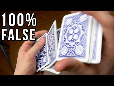 Full Deck False Shuffle Tutorial Youtube With Images Card
